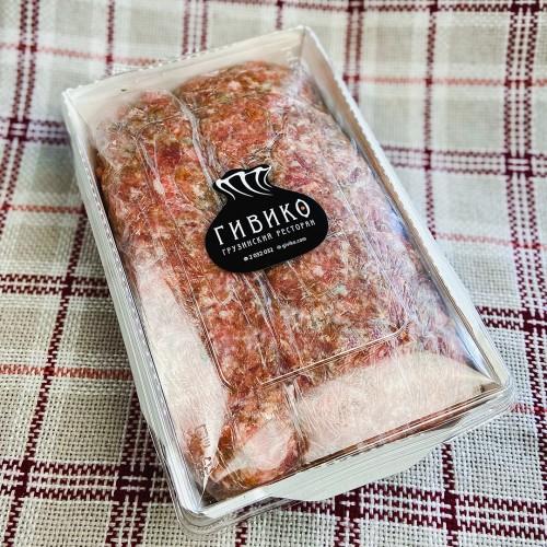 Фарш из свинины и телятины 1 кг полуфабрикат