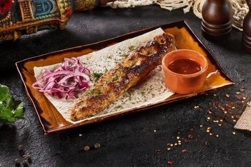 Люля-кебаб из куриного филе